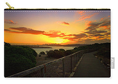 Carry-all Pouch featuring the photograph While You Walk by Miroslava Jurcik