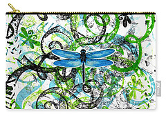 Whimsical Dragonflies Carry-all Pouch