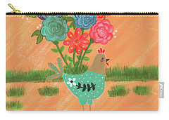 Henrietta The High Heeled Hen Carry-all Pouch