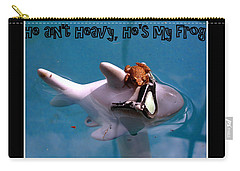 Whimsical Shark Carry-all Pouch