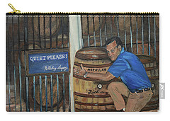 Whiskey Sleeping Carry-all Pouch by Jan Dappen