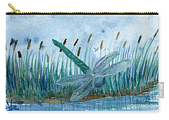 Whispering Cattails Carry-all Pouch