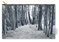 Carry-all Pouch featuring the photograph Whispering Forest by Wayne Sherriff