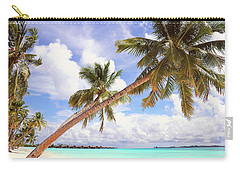 Whispering Palms. Maldives Carry-all Pouch