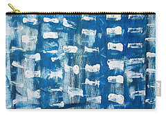 Carry-all Pouch featuring the painting Whispering Pines by Pam Roth O'Mara