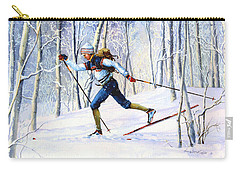 Whispering Tracks Carry-all Pouch by Hanne Lore Koehler