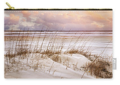 Carry-all Pouch featuring the photograph Whispers In The Dunes by Debra and Dave Vanderlaan