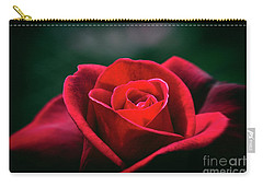 Carry-all Pouch featuring the photograph Whispers Of Passion by Linda Lees