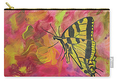 Whispers Of Wings And Petals Carry-all Pouch