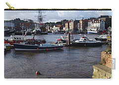 Whitby Harbour - North Yorkshire Carry-all Pouch