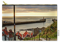 Whitby Sun Set Carry-all Pouch