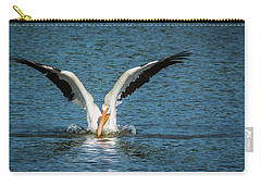 White American Pelican Carry-all Pouch