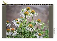 White And Wonderful Carry-all Pouch