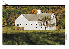 White Barn In Color Carry-all Pouch