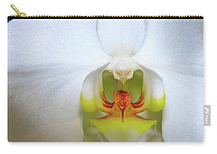 Carry-all Pouch featuring the photograph White Beauty by Lehua Pekelo-Stearns