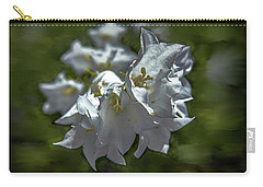 White Bells #g5 Carry-all Pouch
