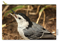 White Breasted Nuthatch 2 Carry-all Pouch