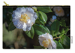White Camelia 02 Carry-all Pouch by Gregory Daley  PPSA