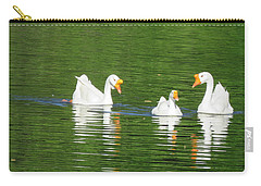 White Chinese Geese Carry-all Pouch