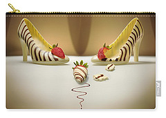 White Chocolate High Heels Carry-all Pouch