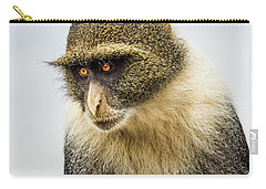 White Collar Mischief Carry-all Pouch