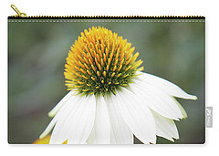 White Coneflower Carry-all Pouch