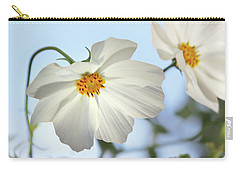 White Cosmos-1 Carry-all Pouch