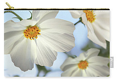 White Cosmos-2 Carry-all Pouch