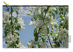 White Crabapple Carry-all Pouch