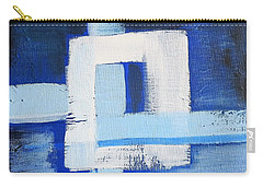 White Cross Carry-all Pouch by Tamara Savchenko