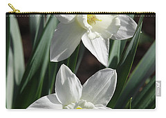 White Daffodils #2 Carry-all Pouch