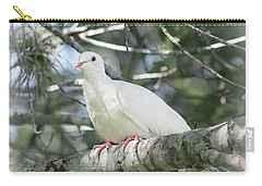 White Dove Messenger Carry-all Pouch