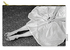 White Dress #6867 Carry-all Pouch by Andrey Godyaykin