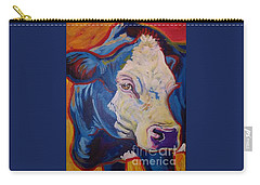 White Face Cow Carry-all Pouch