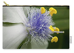 Carry-all Pouch featuring the photograph White Flower by Jean Noren