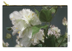 White Flowers 103 Carry-all Pouch