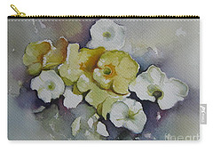 White Flowers, Yellow Flowers... Carry-all Pouch