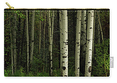 Carry-all Pouch featuring the photograph White Forest by James BO Insogna