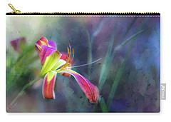 White Hall Lily Carry-all Pouch