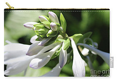 White Hosta Bloom Carry-all Pouch