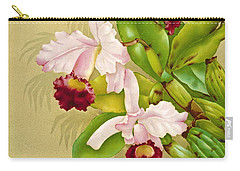 White House Orchid 1892 Carry-all Pouch by Padre Art