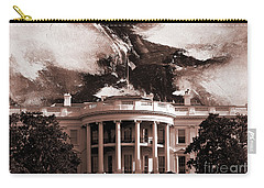 White House Washington Dc Carry-all Pouch by Gull G