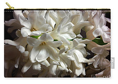 White Hyacinth Carry-all Pouch