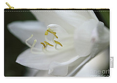 White Hydrangea Closeup Carry-all Pouch