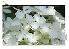 White Hydrangea II Carry-all Pouch