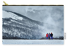 White Landscape In The Frozen Paradise Carry-all Pouch