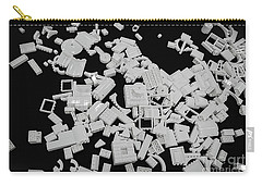 White Lego Abstract Carry-all Pouch