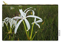 White Lilies In Bloom Carry-all Pouch