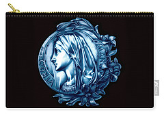 White Lilly Of The Virgin Mary Carry-all Pouch by Fred Larucci