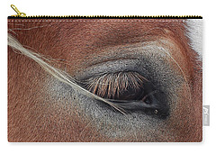 White Mane's Eye Carry-all Pouch
